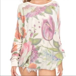 "WILDFOX ""China Flowers"" Top"